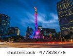 the angel of independence in... | Shutterstock . vector #477828778