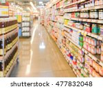 Supermarket Blur Background ...