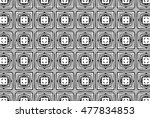 picture with black and white... | Shutterstock . vector #477834853
