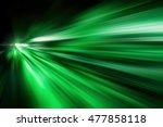 Green Abstract Fast Zoom Speed...