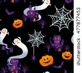 happy halloween | Shutterstock . vector #477877453