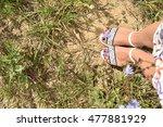 feet in colors | Shutterstock . vector #477881929