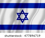 flag of israel | Shutterstock . vector #477896719