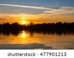 orange sunset | Shutterstock . vector #477901213