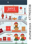 Santa's Workshop Vector...