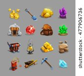 collection of decoration icons...