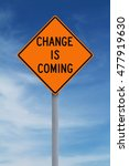 a conceptual road sign on... | Shutterstock . vector #477919630