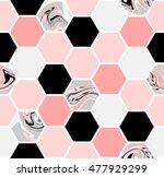 geometric seamless repeating...   Shutterstock .eps vector #477929299