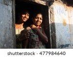 vizhinjam in kerala  india ... | Shutterstock . vector #477984640