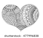 heart. heart of love.heart... | Shutterstock .eps vector #477996838