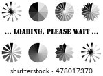 loading  progress or buffering... | Shutterstock .eps vector #478017370