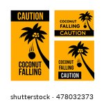 caution  warning sign  hazard... | Shutterstock .eps vector #478032373