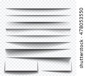 paper sheet shadow effect.... | Shutterstock .eps vector #478053550