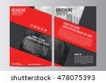 abstract flyer design... | Shutterstock .eps vector #478075393