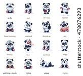 set vector stock illustrations... | Shutterstock .eps vector #478076293
