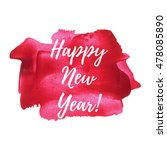 happy new year card  lettering  ...   Shutterstock .eps vector #478085890