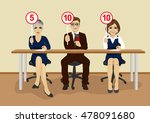 businesspeople in conference... | Shutterstock .eps vector #478091680