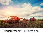 agricultural vehicle harvesting ...