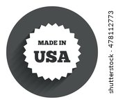 made in the usa icon. export...