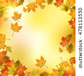 Autumn Vector Background With...