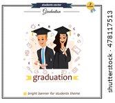 vector group of graduation... | Shutterstock .eps vector #478117513