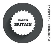 made in britain icon. export...