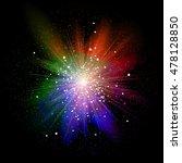 big bang. explosion.  3 | Shutterstock .eps vector #478128850