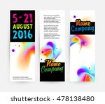 abstract template with... | Shutterstock .eps vector #478138480