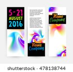 abstract template with... | Shutterstock .eps vector #478138744