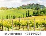 Beautiful Tuscan Landscape Vie...