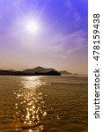 Sun Reflecting In Water Like...