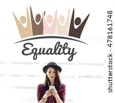 Small photo of Equality Fairness Fundamental Rights Racist Discrimination Concept