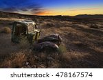 Old Abandoned Vehicle In The...
