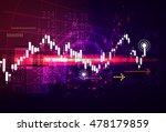 stock market abstract   trading ...   Shutterstock .eps vector #478179859