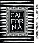 california  typography  t shirt ... | Shutterstock .eps vector #478184128