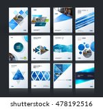 brochure template layout  cover ... | Shutterstock .eps vector #478192516