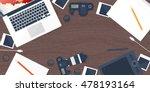 photographer equipment on a...   Shutterstock . vector #478193164