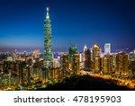 Taipei Skyline At Night  Taipei ...
