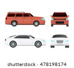 car vehicle transport isolated... | Shutterstock .eps vector #478198174
