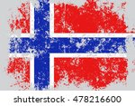 norway grunge  old  scratched... | Shutterstock .eps vector #478216600