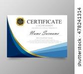 certificate template awards