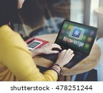 study education e learning...   Shutterstock . vector #478251244