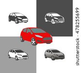 car auto vehicle icons... | Shutterstock .eps vector #478255699
