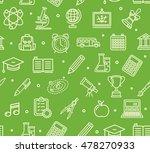 school background pattern on... | Shutterstock . vector #478270933