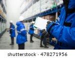 closeup shooting hand of worker ...   Shutterstock . vector #478271956
