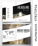 set of business templates for... | Shutterstock .eps vector #478272916