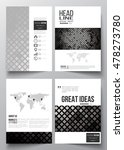 set of business templates for... | Shutterstock .eps vector #478273780