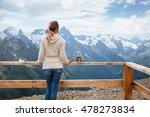 woman drinking warm tea in the... | Shutterstock . vector #478273834