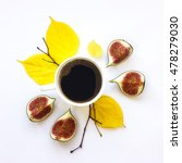 bright morning cup of coffee... | Shutterstock . vector #478279030