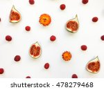 colorful bright pattern of fig... | Shutterstock . vector #478279468